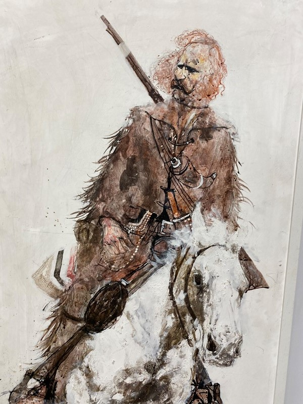 "20th Century Painting ""Jim Bridger"" Mountain Man-the-orangery-antiques-img-1510-main-637264431172475718.jpeg"
