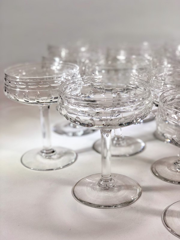 8 Val Saint Lambert crystal champagne coupes-the-vintage-entertainer-15415680-4ea9-4c61-8e49-301609abcd82-main-636860330954968303.jpeg