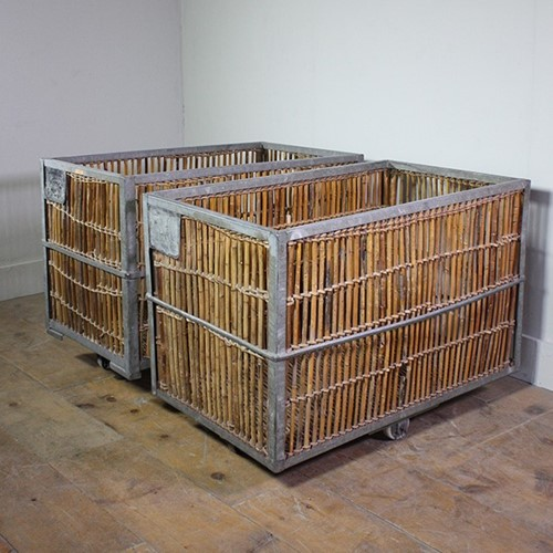 Large Cane Storage Trolley