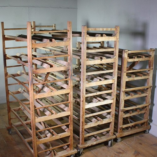 Vintage Bakery Racks