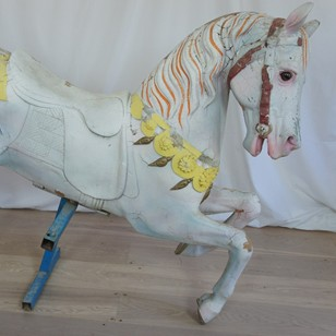 1930's French Carousel Horse