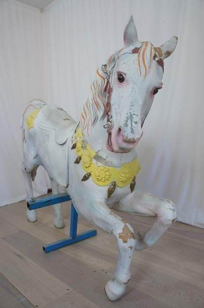1930's French Carousel Horse -vintage-french-Vintage-French-Carrousel-Horse4_main_636123112547036464.jpg