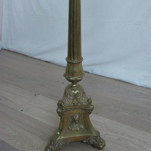 Large Single Church Candle Stick