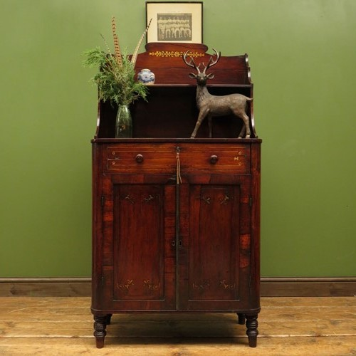 Charming small antique regency chiffonier