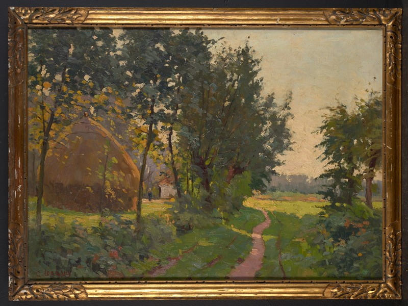 Constant Leemans (1871-1945), Bucolic Country road-vintagerious-001819-01-2mb-main-637290108431627724.jpg