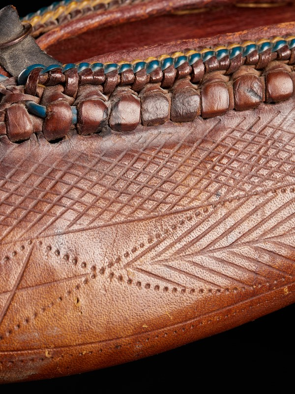 19th C Ethnic Leather decorated Woman's Shoe -vintagerious-001830-13-2mb-main-637284516532089341.jpg