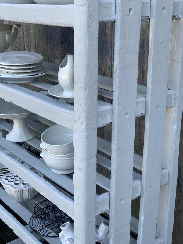 Factory shoe trolley/kitchen shelving-west-barn-country-interiors--1813a22e-081a-40f4-89f7-359d3800aa75-main-637222897903980998-1.jpeg
