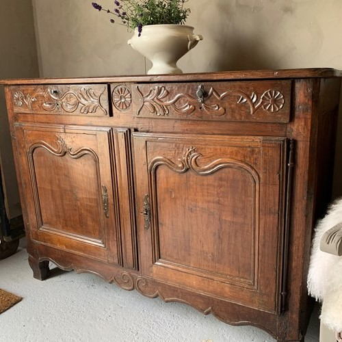 Louis XV 18th Century fruitwood buffet