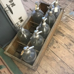 Old French Soda siphons