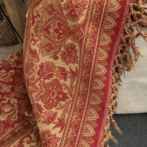 French tapestry throw