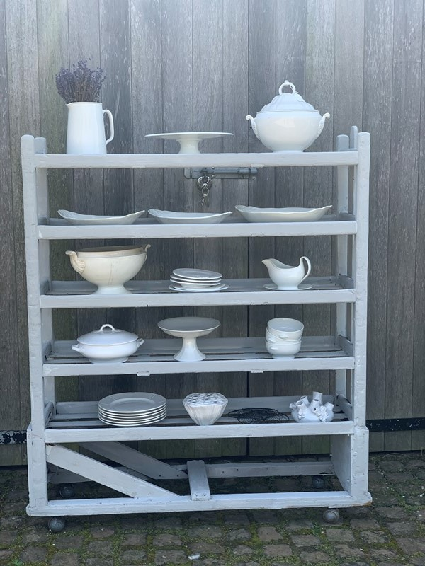 Factory shoe trolley/kitchen shelving-west-barn-country-interiors--b6f55e17-a1df-4c15-8268-3eb1e2d96bc0-main-637222897191016822.jpeg