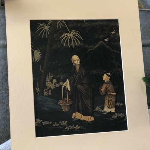 G. Audsey Antique Print Lithograph Japanese