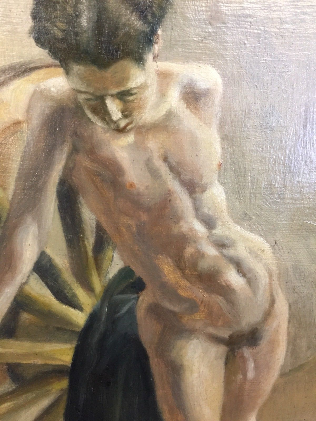 1920 painting nude