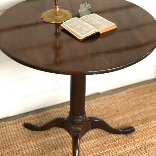 18th Century Tilt top wine table