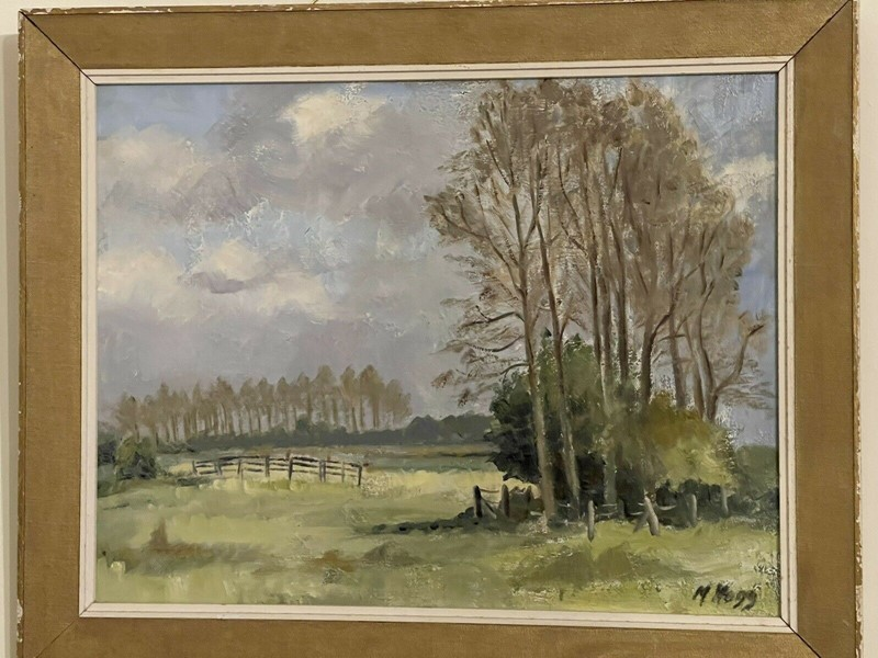 Landscape Painting Oil On Board M HOGG-windmill-hill-antiques-s-l1600---2021-02-07t143841332-main-637483055777703923.jpg