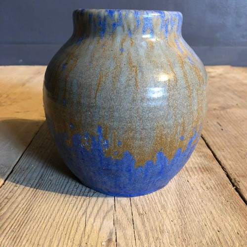 A Royal Lancastrian Drip Glaze Pot